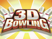 Click to Play 3D Bowling