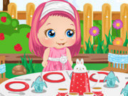 Click to Play Baby Alice Tea Party