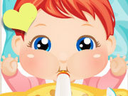 Click to Play Baby Care Alice