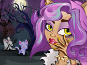 Click to Play Clawdeen Wolf Manicure