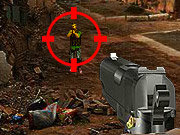 Click to Play Combat Zone Shooter