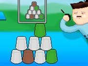 Click to Play Cup Stacking