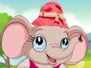 Click to Play Cute Elephant Dressup