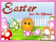 Click to Play Easter Spot the Difference