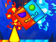 Click to Play Fire And Water Geometry Dash