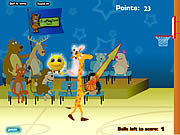 Click to Play Giraffe Basketball