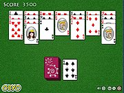 Click to Play Golf Solitaire Game