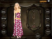 Click to Play Heidi Montag Dress Up
