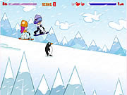 Click to Play Hi Hi Puppy Ami Yumi - Snow Scooter