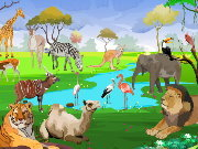 Click to Play Jungle Jumble