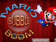 Click to Play Mario Bubble Boom
