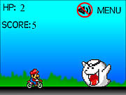 Click to Play Mario Motorbike