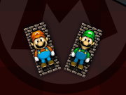 Click to Play Mario vs Luigi Pong