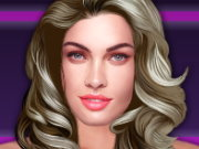 Click to Play Megan Fox Celebrity Makeover