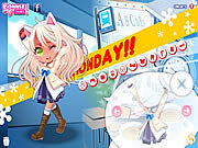 Click to Play Monday Dress Up