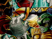 Click to Play Power Rangers Puzzle Madness