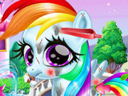 Click to Play Rainbow Pony Caring