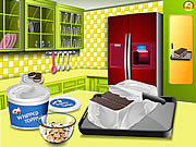 Click to Play Sara's Cooking Class Ice Cream Sandwich Cake