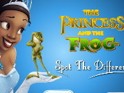 Click to Play The Princess and the Frog Spot the Difference