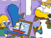 Click to Play The Simpsons Puzzle - 1