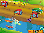 Click to Play Tom And Jerry - Cat Crossing